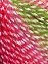 Fiber Content 40% Polyamide, 35% Acrylic, 15% Mohair, 10% Metallic Lurex, Red, Pink, Brand Ice Yarns, Green, Yarn Thickness 3 Light  DK, Light, Worsted, fnt2-65809