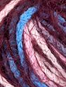 Fiber Content 60% Acrylic, 40% Polyamide, Pink, Brand Ice Yarns, Burgundy, Blue, Yarn Thickness 5 Bulky  Chunky, Craft, Rug, fnt2-65889