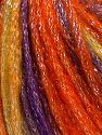 Fiber Content 40% Acrylic, 30% Wool, 30% Metallic Lurex, Purple, Orange, Olive Green, Brand Ice Yarns, Burgundy, Yarn Thickness 4 Medium  Worsted, Afghan, Aran, fnt2-65916