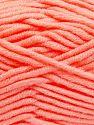 Fiber Content 50% Merino Wool, 50% Acrylic, Light Salmon, Brand Ice Yarns, Yarn Thickness 5 Bulky  Chunky, Craft, Rug, fnt2-65967