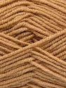 Fiber Content 60% Merino Wool, 40% Acrylic, Brand Ice Yarns, Dark Cream, Yarn Thickness 3 Light  DK, Light, Worsted, fnt2-66077