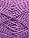Fiber Content 60% Merino Wool, 40% Acrylic, Light Lilac, Brand Ice Yarns, Yarn Thickness 3 Light  DK, Light, Worsted, fnt2-66084