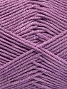 Fiber Content 50% Cotton, 50% Acrylic, Lilac, Brand Ice Yarns, Yarn Thickness 2 Fine  Sport, Baby, fnt2-66114