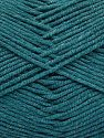 Fiber Content 50% Cotton, 50% Acrylic, Turquoise, Brand Ice Yarns, Yarn Thickness 2 Fine  Sport, Baby, fnt2-66126