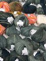 Fancy Yarns In this list; you see most recent 50 mixed lots. <br> To see all <a href=&amp/mixed_lots/o/4#list&amp>CLICK HERE</a> (Old ones have much better deals)<hr> This mixed lot includes a total of 2000 gr (70.5 oz.) yarn. There is no standard for ball weight. Also disregard any information on the labels. You will get what you see in the photo. Brand Ice Yarns, fnt2-66407