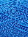 Very thin yarn. It is spinned as two threads. So you will knit as two threads. Yardage information is for only one strand. Fiber Content 100% Acrylic, Brand Ice Yarns, Blue, Yarn Thickness 1 SuperFine  Sock, Fingering, Baby, fnt2-66554