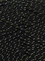 Fiber Content 94% Acrylic, 6% Metallic Lurex, Brand Ice Yarns, Black, Yarn Thickness 3 Light  DK, Light, Worsted, fnt2-66565