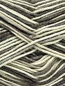 Fiber Content 50% Acrylic, 50% Cotton, Brand Ice Yarns, Grey, Cream, Camel, Yarn Thickness 2 Fine  Sport, Baby, fnt2-66574