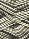 Fiber Content 50% Acrylic, 50% Cotton, Brand Ice Yarns, Grey, Cream, Camel, Yarn Thickness 2 Fine  Sport, Baby, fnt2-66574