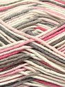 Fiber Content 50% Cotton, 50% Acrylic, Pink, Brand Ice Yarns, Cream, Camel, Yarn Thickness 2 Fine  Sport, Baby, fnt2-66577