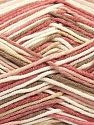Fiber Content 50% Acrylic, 50% Cotton, Pink Shades, Brand Ice Yarns, Cream, Beige, Yarn Thickness 2 Fine  Sport, Baby, fnt2-66578