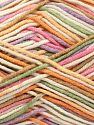 Fiber Content 50% Acrylic, 50% Cotton, Pink, Lilac, Brand Ice Yarns, Green, Gold, Cream, Brown, Yarn Thickness 2 Fine  Sport, Baby, fnt2-66584