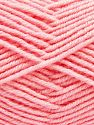 Fiber Content 60% Merino Wool, 40% Acrylic, Brand Ice Yarns, Baby Pink, Yarn Thickness 3 Light  DK, Light, Worsted, fnt2-66590