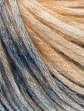Modal is a type of yarn which is mixed with the silky type of fiber. It is derived from the beech trees. Fiber Content 74% Modal, 26% Wool, Light Salmon, Brand Ice Yarns, Blue Shades, Yarn Thickness 3 Light  DK, Light, Worsted, fnt2-66595