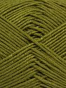 Fiber Content 50% Acrylic, 50% Bamboo, Jungle Green, Brand Ice Yarns, Yarn Thickness 2 Fine  Sport, Baby, fnt2-66608