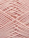 Fiber Content 50% Bamboo, 50% Acrylic, Light Pink, Brand Ice Yarns, Yarn Thickness 2 Fine  Sport, Baby, fnt2-66610