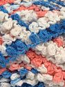 Fiber Content 50% Acrylic, 50% Polyamide, White, Light Salmon, Brand Ice Yarns, Blue Shades, Yarn Thickness 6 SuperBulky  Bulky, Roving, fnt2-66614