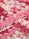Fiber Content 50% Polyamide, 50% Acrylic, White, Pink Shades, Brand Ice Yarns, Yarn Thickness 6 SuperBulky  Bulky, Roving, fnt2-66617