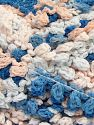 Fiber Content 50% Polyamide, 50% Acrylic, Light Salmon, Brand Ice Yarns, Blue Shades, Yarn Thickness 6 SuperBulky  Bulky, Roving, fnt2-66621