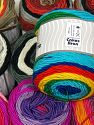 Cakes Aran In this list; you see most recent 50 mixed lots. <br> To see all <a href=&amp/mixed_lots/o/4#list&amp>CLICK HERE</a> (Old ones have much better deals)<hr> This mixed lot includes a total of 2000 gr (70.5 oz.) yarn. There is no standard for ball weight. Also disregard any information on the labels. You will get what you see in the photo. İçerik 100% Akrilik, Brand Ice Yarns, fnt2-66672