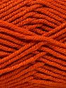 Fiber Content 100% Antipilling Acrylic, Orange, Brand Ice Yarns, Yarn Thickness 3 Light  DK, Light, Worsted, fnt2-66724
