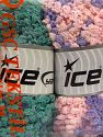 Fiber Content 50% Polyamide, 50% Acrylic, Mixed Lot, Brand Ice Yarns, fnt2-66784