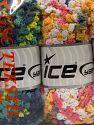 Fiber Content 50% Polyamide, 50% Acrylic, Mixed Lot, Brand Ice Yarns, fnt2-66785