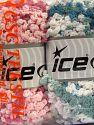 Fiber Content 50% Polyamide, 50% Acrylic, Mixed Lot, Brand Ice Yarns, fnt2-66786