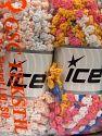 Fiber Content 50% Polyamide, 50% Acrylic, Mixed Lot, Brand Ice Yarns, fnt2-66790
