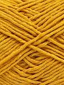 Fiber Content 100% Cotton, Brand Ice Yarns, Dark Yellow, fnt2-66815