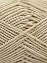 Fiber Content 50% Bamboo, 50% Acrylic, Light Beige, Brand Ice Yarns, Yarn Thickness 2 Fine  Sport, Baby, fnt2-66889