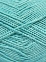 Fiber Content 50% Acrylic, 50% Cotton, Light Turquoise, Brand Ice Yarns, Yarn Thickness 2 Fine  Sport, Baby, fnt2-66896