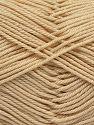 Fiber Content 100% Mercerised Giza Cotton, Brand Ice Yarns, Dark Cream, Yarn Thickness 2 Fine  Sport, Baby, fnt2-66921