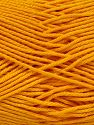 Contenido de fibra 100% Mercerised Giza Cotton, Brand Ice Yarns, Dark Yellow, Yarn Thickness 2 Fine  Sport, Baby, fnt2-66935
