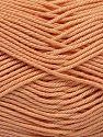 Fiber Content 100% Mercerised Giza Cotton, Light Orange, Brand Ice Yarns, Yarn Thickness 2 Fine  Sport, Baby, fnt2-66936