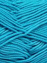 İçerik 100% Mercerised Giza Cotton, Turquoise, Brand Ice Yarns, Yarn Thickness 2 Fine  Sport, Baby, fnt2-66948