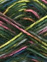 Contenido de fibra 55% Acrílico, 45% Poliamida, White, Pink, Brand Ice Yarns, Dark Green, Blue, Yarn Thickness 4 Medium  Worsted, Afghan, Aran, fnt2-66956