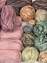 Sock Yarns Leftover This item includes 'Leftover' yarn. You will get what you see in the photo. In this list; you see most recent 50 mixed lots. <br>