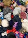 Leftover Yarns This item includes 'Leftover' yarn. You will get what you see in the photo. In this list; you see most recent 50 mixed lots. <br>