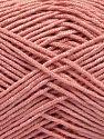 Fiberinnehåll 50% Bambu, 50% Akryl, Rose Pink, Brand Ice Yarns, Yarn Thickness 2 Fine  Sport, Baby, fnt2-66987
