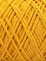 Please be advised that yarn iade made of recycled cotton, and dye lot differences occur. Contenido de fibra 100% Algodón, Brand Ice Yarns, Dark Yellow, fnt2-66999