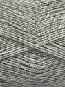 Very thin yarn. It is spinned as two threads. So you will knit as two threads. Yardage information is for only one strand. Fiber Content 100% Acrylic, Light Grey, Brand Ice Yarns, fnt2-67004