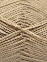 Contenido de fibra 100% Acrílico, Light Beige, Brand Ice Yarns, fnt2-67040