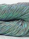 Please note that this is a hand-dyed yarn. Colors in different lots may vary because of the charateristics of the yarn. Also see the package photos for the colorway in full; as skein photos may not show all colors. Fiberinnehåll 60% metalliskt Lurex, 40% Bomull, Brand Ice Yarns, Grey, fnt2-67048