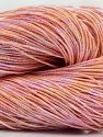 Please note that this is a hand-dyed yarn. Colors in different lots may vary because of the charateristics of the yarn. Also see the package photos for the colorway in full; as skein photos may not show all colors. Fiber Content 60% Metallic Lurex, 40% Cotton, Light Salmon, Brand Ice Yarns, fnt2-67051