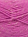Fiber Content 76% Acrylic, 14% Cotton, 10% Bamboo, Brand Ice Yarns, Cream, Candy Pink, Yarn Thickness 2 Fine  Sport, Baby, fnt2-67083