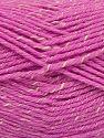 Contenido de fibra 76% Acrílico, 14% Algodón, 10% De bambú, Brand Ice Yarns, Cream, Candy Pink, Yarn Thickness 2 Fine  Sport, Baby, fnt2-67083