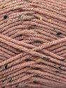Fiber Content 75% Premium Acrylic, 5% Viscose, 20% Wool, Pink, Brand Ice Yarns, Yarn Thickness 4 Medium  Worsted, Afghan, Aran, fnt2-67170