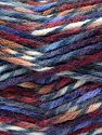 Fiber Content 75% Premium Acrylic, 25% Wool, Purple, Brand Ice Yarns, Burgundy, Blue Shades, Yarn Thickness 5 Bulky  Chunky, Craft, Rug, fnt2-67185