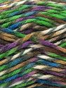 Fiber Content 75% Premium Acrylic, 25% Wool, Turquoise, Purple, Brand Ice Yarns, Green, Brown Shades, Yarn Thickness 5 Bulky  Chunky, Craft, Rug, fnt2-67188